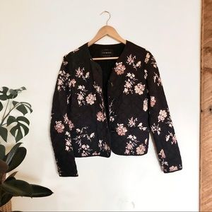 Lucky Brand Floral Ditsy Quilted Jacket